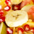 Fresh sweet juicy fruit salad — Stock Photo