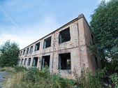 Vlevo zlomený budova — Stock fotografie