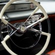 Stock Photo: Classic car interior
