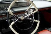 Interior del coche clásico — Foto de Stock