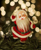 Vintage Santa — Stock Photo