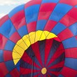 Inflating a hot air balloon — Stock Photo #30570435