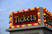 Ticket booth — Stock Photo