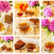 Stock Photo: Cup of tea set