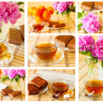 Кубок чайный сервиз — Стоковое фото