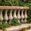 Architectural element balustrade — Stock Photo