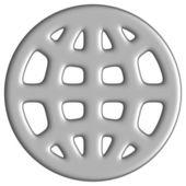 Pozemský symbol — Stock fotografie