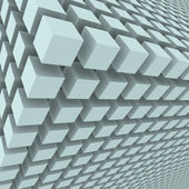 Abstract background with 3d cubes — Stock Photo