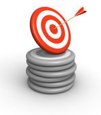 Special target — Stock Photo