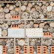 Stock Photo: Bee and Insect House