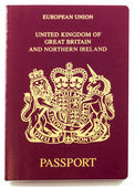 British Passport — 图库照片
