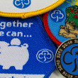 Girl Guiding Badges — Stock Photo #15344231
