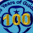 Girl Guiding 100 Years Badge — Stock Photo #15344261