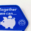 Girl Guiding Together we CBadge — Stock Photo #15344311