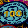Girl Guiding Badges — Stock Photo #15344447