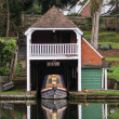 BoatHouse on Thames — Stock Photo
