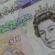 Bank Notes Sterling — Stock Photo