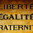 Liberty, Equality and Fraternity - Stock Photo
