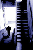 Stairs to nowhere — Stock Photo