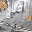 Kitchen tools from above — Stock Photo