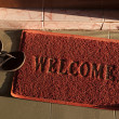 Welcome doormat — Stock Photo #25693791