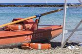 Rescue boat — Stock Photo