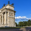 Peace Arch in Milan — Stock Photo