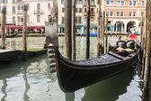 Benátské gondoly — Stock fotografie