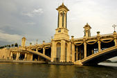 Seri Gemilang Bridge, PutraJaya — Stock Photo