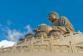 Giant Buddha Statue, Lantau Island — Stock Photo