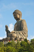 The Big Buddha Statue, Lantau Island — Stock Photo