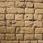 Old Mud Brick Wall — Stock Photo