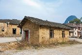 Abandoned Mud Bricks House in Village — Stock Photo