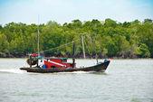 Рыбацкая лодка, Пулау Кетам — Стоковое фото