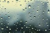 Cam üzerine düşer — Stok fotoğraf