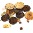 Wooden buttons — Stock Photo #13684753