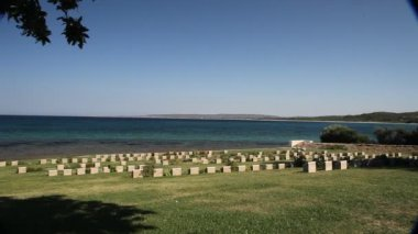 Anzac cove — Stock Video #13293132