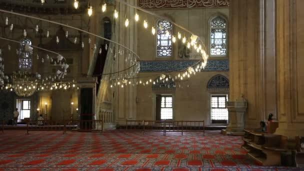 La mezquita de selimiye — Vídeo de stock