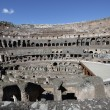 Ruins of the Collosseo of an ancient Roman construction for entertainments. — Stock Photo #13810964
