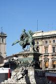 Statua di vittoria milano in piazza duom — Foto Stock