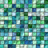 Green mosaic texture — Stock Photo