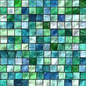 绿色马赛克纹理 — 图库照片
