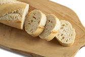 Chopped french bread — Stock Photo