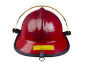 Up close fire helmet — ストック写真