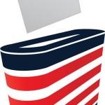 矢量图像的选票和表决 — 图库矢量图片