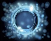 Vector afbeelding van abstracte cirkels — Stockvector