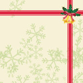 Christmas background vector — Vettoriale Stock
