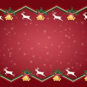 圣诞背景的剪贴画 — 图库矢量图片