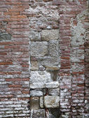 Weathered tuscan wall — Stock Photo