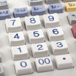 Calculator macro - Stock Photo